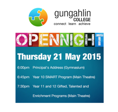 Gungahlin College Open Night